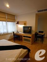 バンコク カップル&ハネムーンのホテル : ザ キー スクンビット バンコク バイ コンパス ホスピタリティ(The Key Sukhumvit Bangkok by Compass Hospitality)のプラチナキー デラックスルームの設備 Bedroom