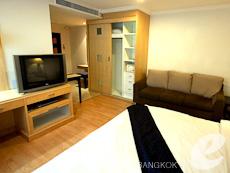 バンコク カップル&ハネムーンのホテル : ザ キー スクンビット バンコク バイ コンパス ホスピタリティ(The Key Sukhumvit Bangkok by Compass Hospitality)のお部屋「プラチナキー デラックス」