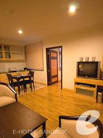 バンコク カップル&ハネムーンのホテル : ザ キー スクンビット バンコク バイ コンパス ホスピタリティ(The Key Sukhumvit Bangkok by Compass Hospitality)のマスターキー スイートルームの設備 Living Area