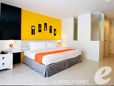 プーケット パトンビーチのホテル : ザ ランタン リゾート パトン(1)のお部屋「スタジオ ペント」