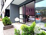 プーケット パトンビーチのホテル : ザ ランタン リゾート パトン(The Lantern Resort Patong)のプール ペントルームの設備 Terrace