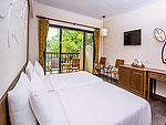 プーケット ヴィラコテージのホテル : ザ リーフ オン ザ サンズ(The Leaf On The Sands)のスーペリア ガーデンビュールームの設備 Room View