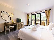プーケット 5,000円以下のホテル : ザ リーフ オン ザ サンズ(1)のお部屋「スーペリア ガーデンビュー」