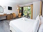 プーケット 5,000円以下のホテル : ザ リーフ オン ザ サンズ(The Leaf On The Sands)のデラックス ガーデンビュールームの設備 Room View