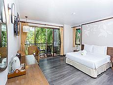 プーケット 5,000円以下のホテル : ザ リーフ オン ザ サンズ(1)のお部屋「デラックス ガーデンビュー」