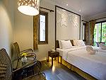 プーケット 5,000円以下のホテル : ザ リーフ オン ザ サンズ(The Leaf On The Sands)の チャーレットルームの設備 Room View
