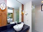 プーケット 5,000円以下のホテル : ザ リーフ オン ザ サンズ(The Leaf On The Sands)のヴィラルームの設備 Bath Room