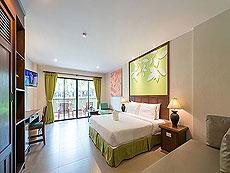 プーケット カオラックのホテル : ザ リーフ オーシャンサイド(1)のお部屋「ガーデン」