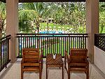プーケット カオラックのホテル : ザ リーフ オーシャンサイド(The Leaf Oceanside)のコテージルームの設備 Balcony