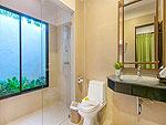 プーケット ヴィラコテージのホテル : ザ リーフ オーシャンサイド(The Leaf Oceanside)のパーム ヴィラルームの設備 Bath Room
