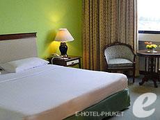 プーケット プーケットタウンのホテル : ザ メトロポール ホテル プーケット(1)のお部屋「スーペリア」