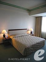 プーケット プーケットタウンのホテル : ザ メトロポール ホテル プーケット(The Metropole Hotel Phuket)のデラックスルームの設備 Bedroom