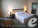 プーケット プーケットタウンのホテル : ザ メトロポール ホテル プーケット(The Metropole Hotel Phuket)のジュニア スイートルームの設備 Bedroom