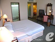プーケット プーケットタウンのホテル : ザ メトロポール ホテル プーケット(1)のお部屋「ジュニア スイート」