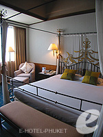 プーケット プーケットタウンのホテル : ザ メトロポール ホテル プーケット(The Metropole Hotel Phuket)のエグゼクティブスイートルームの設備 Bedroom