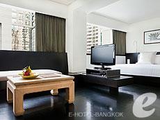 バンコク シーロム・サトーン周辺のホテル : コモ メトロポリタン バンコク(COMO Metropolitan Bangkok)のお部屋「スタジオ」