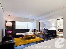 バンコク シーロム・サトーン周辺のホテル : コモ メトロポリタン バンコク(COMO Metropolitan Bangkok)のお部屋「テラス ルーム」