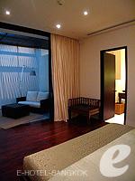 バンコク シーロム・サトーン周辺のホテル : コモ メトロポリタン バンコク(COMO Metropolitan Bangkok)のペントハウス スイートルームの設備 Bedroom