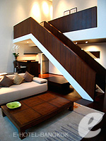 バンコク シーロム・サトーン周辺のホテル : コモ メトロポリタン バンコク(COMO Metropolitan Bangkok)のペントハウス スイートルームの設備 Living Room