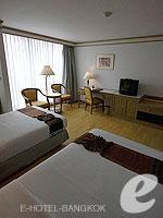 バンコク シーロム・サトーン周辺のホテル : ザ モンティエン ホテル バンコク(The Montien Hotel Bangkok)のコーポレート スーペリアルームの設備 Bedroom