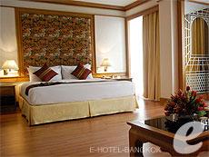 バンコク シーロム・サトーン周辺のホテル : ザ モンティエン ホテル バンコク(The Montien Hotel Bangkok)のお部屋「ジュニア スイート」