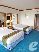 パタヤ ノースパタヤのホテル : ザ インペリアル パタヤ ホテル(The Imperial Pattaya Hotel)のスーペリア ルームルームの設備 Bedroom
