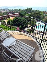 パタヤ ノースパタヤのホテル : ザ インペリアル パタヤ ホテル(The Imperial Pattaya Hotel)のスーペリア ルームルームの設備 Balcony