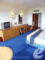 パタヤ ノースパタヤのホテル : ザ インペリアル パタヤ ホテル(The Imperial Pattaya Hotel)のエグゼクティブ スーペリアルームの設備 Bedroom