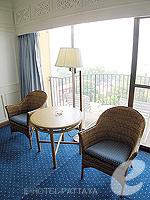 パタヤ ノースパタヤのホテル : ザ インペリアル パタヤ ホテル(The Imperial Pattaya Hotel)のエグゼクティブ スーペリアルームの設備 Sitting Area