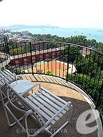 パタヤ ノースパタヤのホテル : ザ インペリアル パタヤ ホテル(The Imperial Pattaya Hotel)のエグゼクティブ スーペリアルームの設備 Balcony