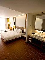 プーケット パトンビーチのホテル : ザ ナップ パトン(The Nap Patong)のグランド スーペリアルームの設備 Room View