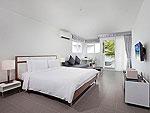 プーケット パトンビーチのホテル : ザ ナップ パトン(The Nap Patong)のムーンライト デラックスルームの設備 Bed Room