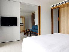 プーケット パトンビーチのホテル : ザ ナップ パトン(1)のお部屋「ブルー ムーン スイート」