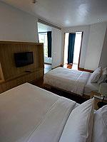 プーケット パトンビーチのホテル : ザ ナップ パトン(The Nap Patong)のシグネチャー プールヴィラルームの設備 Bed Room