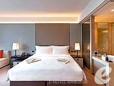 バンコク カップル&ハネムーンのホテル : ザ オークラ プレステージ バンコク(The Okura Prestige Bangkok)のお部屋「デラックス」
