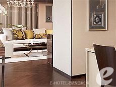 バンコク ワイヤレスロードのホテル : ザ オークラ プレステージ バンコク(The Okura Prestige Bangkok)のお部屋「ロイヤル スイート」