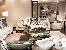 バンコク カップル&ハネムーンのホテル : ザ オークラ プレステージ バンコク(The Okura Prestige Bangkok)のお部屋「インペリアル スイート」