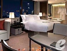 バンコク カップル&ハネムーンのホテル : ザ オークラ プレステージ バンコク(The Okura Prestige Bangkok)のお部屋「デラックス コーナー」