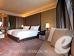 バンコク カップル&ハネムーンのホテル : ザ オークラ プレステージ バンコク(The Okura Prestige Bangkok)のデラックス ステージルームの設備 Bedroom