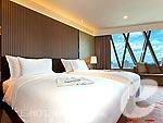 バンコク ワイヤレスロードのホテル : ザ オークラ プレステージ バンコク(The Okura Prestige Bangkok)のデラックス ステージルームの設備 Bedroom