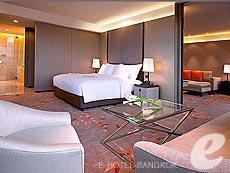 バンコク ワイヤレスロードのホテル : ザ オークラ プレステージ バンコク(The Okura Prestige Bangkok)のお部屋「プレステージ スイート」
