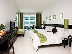 プーケット キッズルームありのホテル : ザ オールド プーケット カロン ビーチ リゾート(1)のお部屋「デラックス プール ビュー / セレン ウイング」