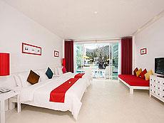 プーケット キッズルームありのホテル : ザ オールド プーケット カロン ビーチ リゾート(1)のお部屋「デラックス プールアクセス / セリーヌ ウイング」