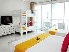 プーケット カロンビーチのホテル : ザ オールド プーケット カロン ビーチ リゾート(1)のお部屋「デラックス ファミリー / セリーヌ ウイング」