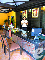 Reception : The Phulin Resort, Karon Beach, Phuket