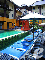Swimming Pool : The Phulin Resort, Karon Beach, Phuket