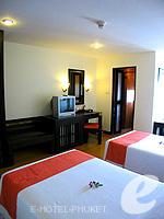 プーケット 5,000円以下のホテル : ザ プーリン リゾート(The Phulin Resort)のStandardルームの設備 Bedroom