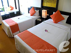 プーケット カロンビーチのホテル : ザ プーリン リゾート(1)のお部屋「Standard」