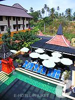 プーケット カロンビーチのホテル : ザ プーリン リゾート(The Phulin Resort)のデラックスルームの設備 Balcony View