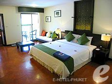 プーケット カロンビーチのホテル : ザ プーリン リゾート(1)のお部屋「デラックス」